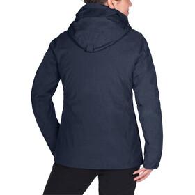 VAUDE Caserina 3in1 Jacket Women eclipse/fjord
